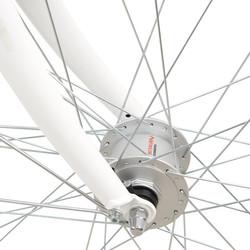 28 Zoll Viking Prelude Citybike mit Starrgabel Stadt Fahrrad Licht 7 Gang Nexus Bild 6