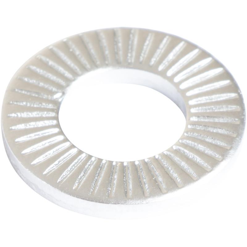 Kontaktscheibe gezahnt 18 mm Außendurchmesser, 9 mm Innendurchmesser