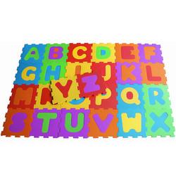 D'Arpèje Spielmatte Fußboden EVA-Schaum Puzzle Buchstaben Alphabet Spielboden