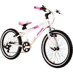 Difiori Stargazer Rigid 20 Zoll Mädchenfahrrad Fahrrad Mädchen weiß ab ca. 6 Jahre
