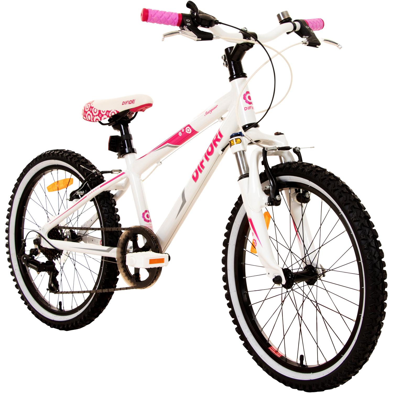 mtb m dchenfahrrad 20 zoll kinder fahrrad difiori stargazer fs hardtail m dchen ebay. Black Bedroom Furniture Sets. Home Design Ideas