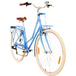 Difiori Bluebell 700c Ladies Damenfahrrad Fahrrad Gepäckträger Frontkorbhalter 28 Zoll 7 Gang