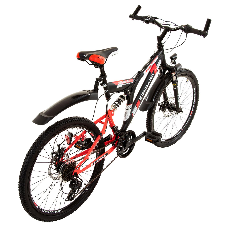 24 Zoll Fahrrad Fully Vollgefedert Mountainbike Cross Bike MTB 21 Gang Shimano