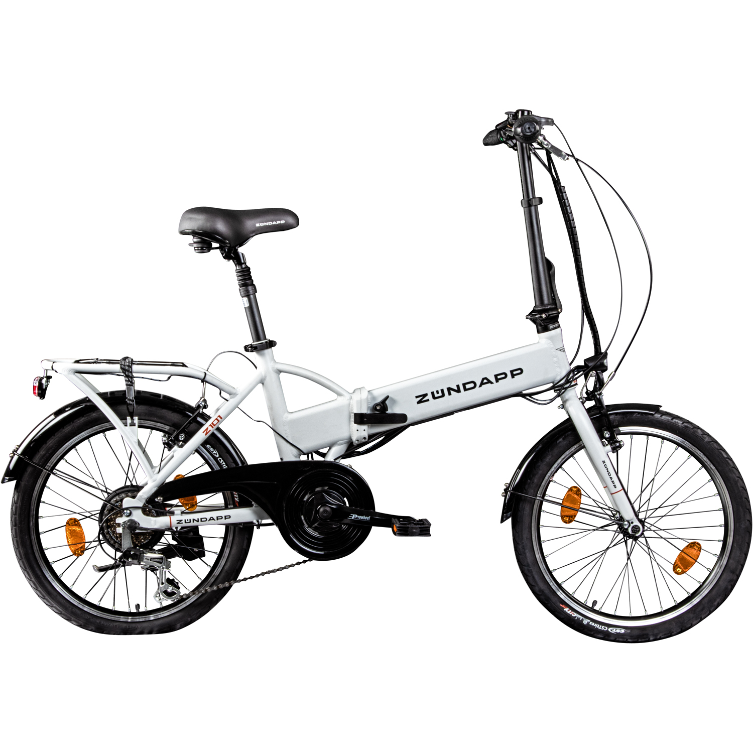 e klapprad 20 inch with case pedelec electric bike z ndapp z101 e bike ebay. Black Bedroom Furniture Sets. Home Design Ideas