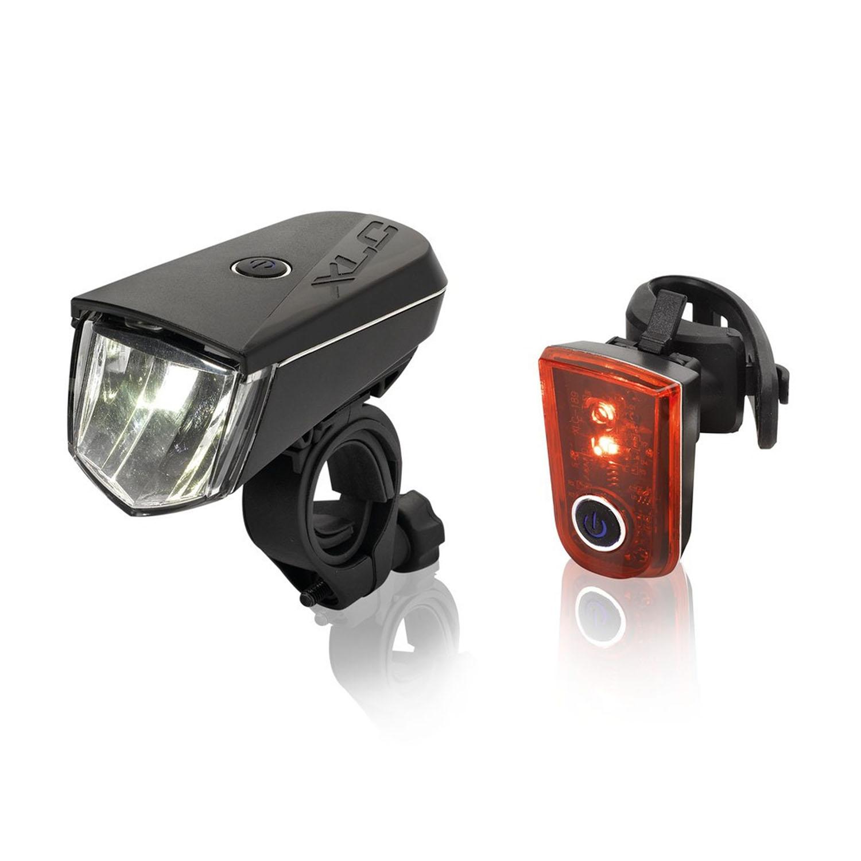 xlc sirius b40 led beleuchtungsset stvzo fahrradlicht fahrrad beleuchtung. Black Bedroom Furniture Sets. Home Design Ideas