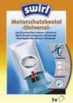 Swirl Motorschutzbeutel original - Sparangebot: 5 Premium Microvlies Motorschutzbeutel