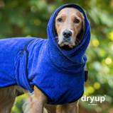 Hunde Bademantel Dryup Cape, Sonderfarbe Blueberry