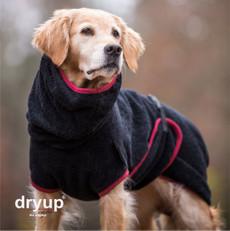 Hunde Bademantel Dryup Cape, Sonderfarbe schwarz