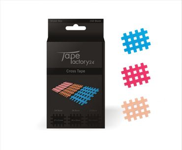 Cross Tape - Mixed Box mit 102 Pflaster