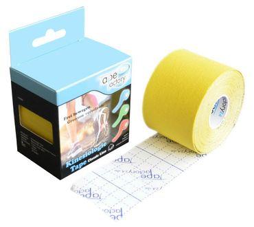 Classic Line Kinesiologie Tape - gelb – Bild 2