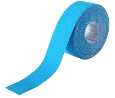 Classic Line Kinesiologie Tape 2,5cm - blau