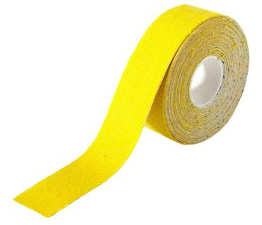 Classic Line Kinesiologie Tape 2,5cm - gelb