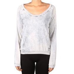 Iriedaily Damen T-Shirt Vintage Fair LS - light grey w.  1