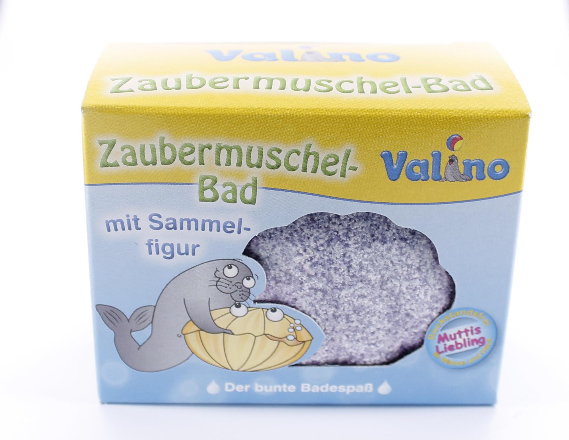 1 St/ück Valino Zaubermuschel Bad rot