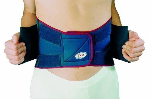 TSM Rückenbandage Rückengurürtel mit Stabilisierungsgurt