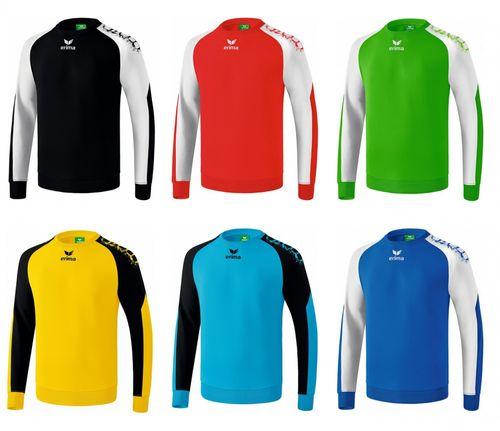 Erima York Handball Torwart Pullover Schwarz Rot Grün Blau Gelb – Bild 1
