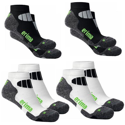 Erima Bristol gepolsterte Golf Socken 2'er Set Socken Schwarz oder Weiss