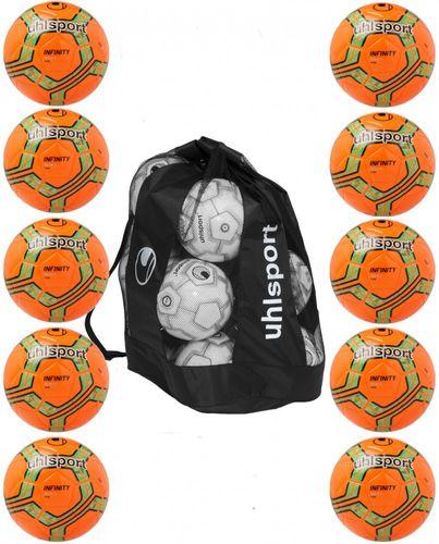 Sportskanone Uhsport Pro Snow Fussball Ballpaket 10'er Ballset Gr. 5 und Ballsack