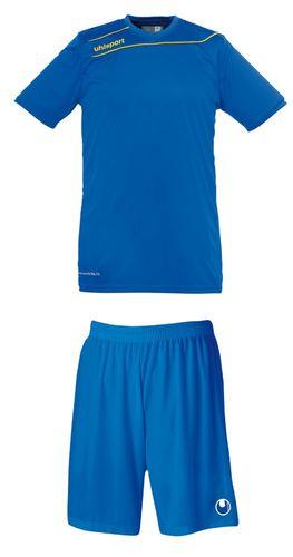 Uhlsport Santander Pro Herren Trikot & Shorts Set Rot Blau Gelb Grün Schwarz – Bild 3