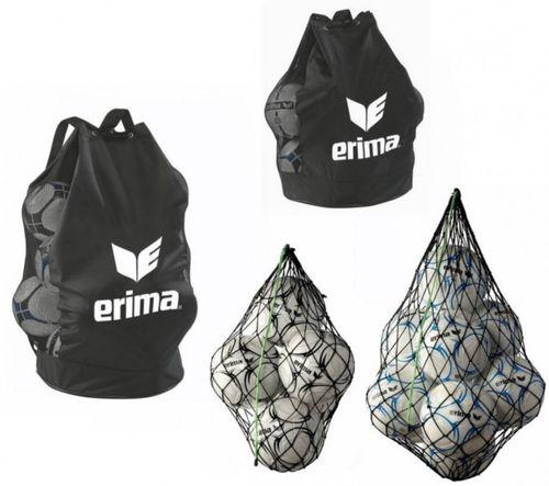 Erima Fussball Ballnetz Ballsack Balltasche 5, 10, 12 oder 18 Bälle