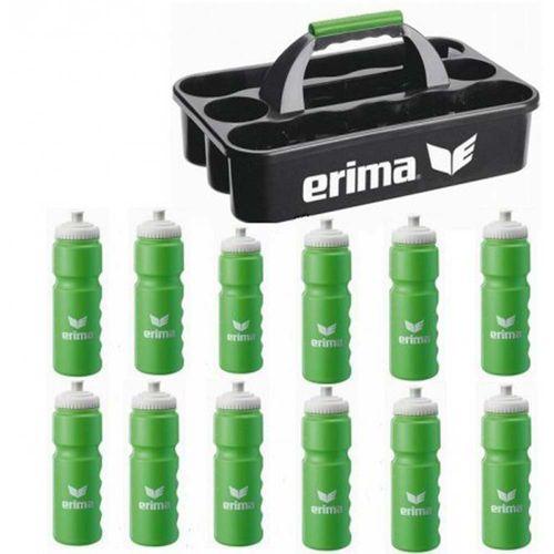 Erima Flaschenträgerset Bristol Sport Flaschenhalter inkl. 12 Trinkflaschen