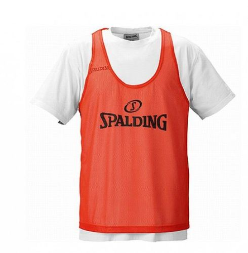 Spalding Plano Set 10 Basketball Trainingsleibchen Markierungshemden Gelb Orange – Bild 2