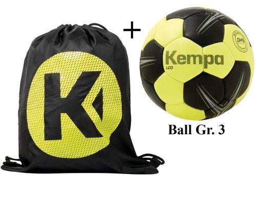 Sportskanone Kempa Tricky Handball Set Balltasche inkl. Ball mit DHB Siegel – Bild 5