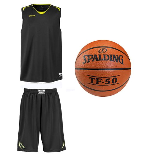 Sportskanone Spalding Upper Air Set Trikot Shorts Basketball – Bild 1