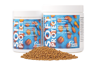 Soft Protect L 250ml can - Special soft granule food for marine ornamental reef fishes – image 2