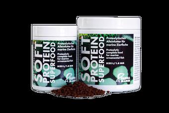 Soft Protein Super Food L 250ml Dose - Proteolytisches Alleinfutter für Meerwasserzierfische  – Bild 2