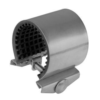 Gebo Unifix Edelstahl Dichtband 48-51mm 1 1/2 Zoll Rohr Reparatur Dichtschelle – Bild $_i