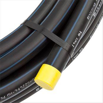 PE 80 HD Rohr 40mm 1 1/4 Zoll 100m HDPE DN32 NW32 Trinkwasser Wasserleitung DVGW – Bild $_i