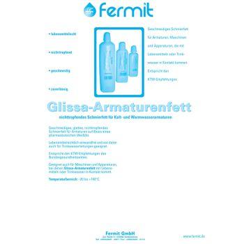 Glissa Armaturenfett 60g Tube Wasserhahnfett für Trinkwasser – Bild $_i