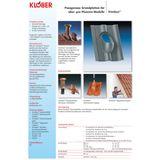 Entlüfter / Belüfter Grundplatte DN 100 Braun für Biberschwanz