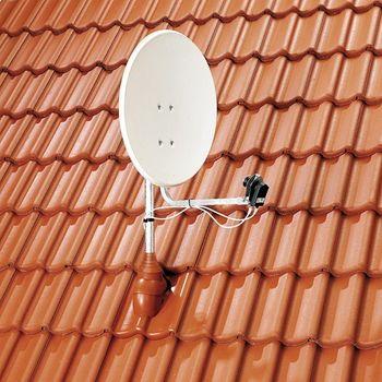 Dachdurchführung DN100 Rot PVC für Antennen Sat – Bild $_i