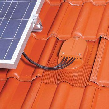 Venduct PV-Kabeldurchgang Kabel Dachdurchführung Rot – Bild $_i