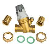 Druckminderer 1  Zoll DN25 Druckregler für Wasser mit Manometer