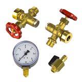 Wasserstandsarmatur für Druckkessel 1000L - 3000L