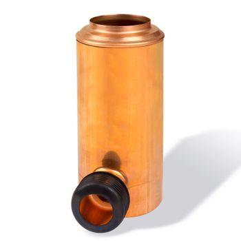 RETOMAT Regenwassersammler DN 100 Kupfer Regenwasserklappe – Bild $_i