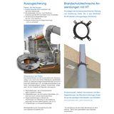 HT Rohr DN40 x 750 mm Abflussrohr Abwasserrohr grau