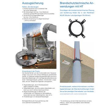 HT Reduzierstück DN110/50 Reduziermuffe kurz Abwasserrohr – Bild $_i