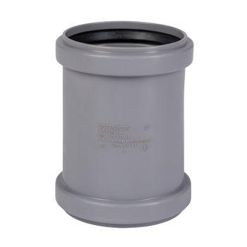 HT Überschiebmuffe DN75 Rohr 70 mm Rohrmuffe Abwasserrohr – Bild $_i
