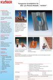 Klöber-Set2 Dachentlüftung DN100 rot Biberschwanz