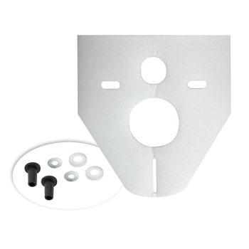 Schallschutzunterlage 422 x 372 mm Wand WC Schallschutz Set – Bild $_i