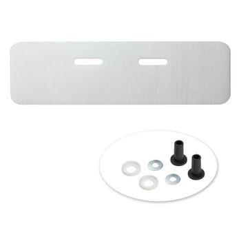 Schallschutzunterlage 240 x 750 mm Waschbecken Schallschutz Set – Bild $_i