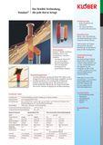 Klöber-Set3 Dachentlüftung DN100 rot Universal Grundplatte