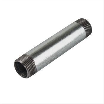 """Rohrdoppelnippel 1/2"""" Zoll 21,3 x 150 mm DN15 Rohrnippel verzinkt – Bild $_i"""