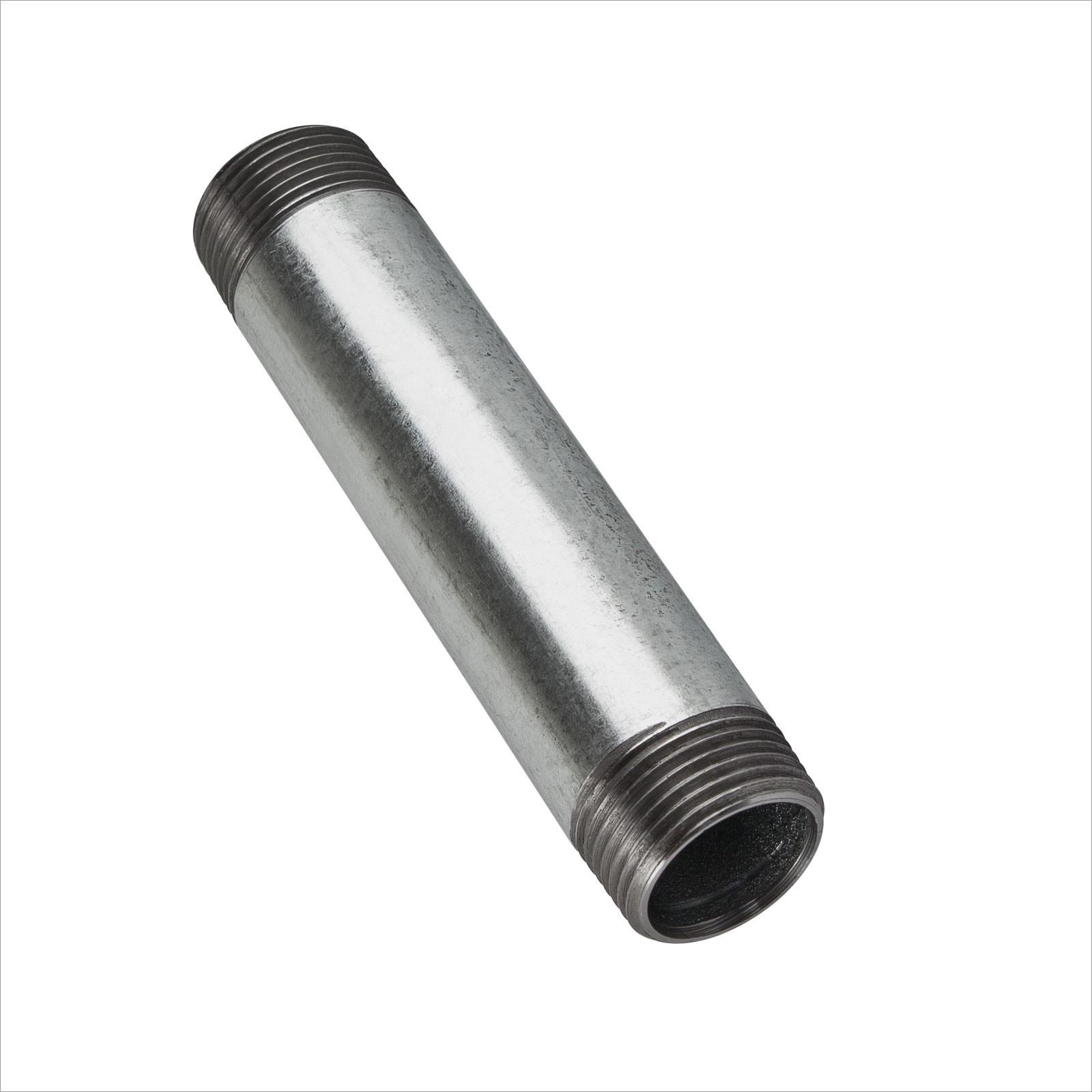 longitud 180,0 mm R 1 1//2 AG//AG Riegler rohrdoppelnippel 23 SFR 23-112180
