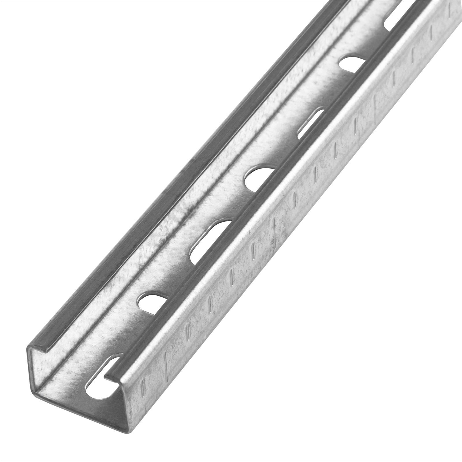 Halteklammern Profilhalter f 50 St C-Profile 27x18 mm