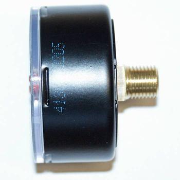 Kunststoff Manometer 1/4 Zoll Anschluss hinten – Bild $_i